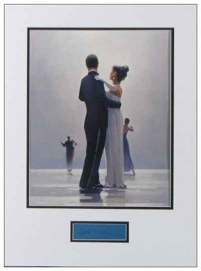 Jack Vettriano Autograph Signed Display Dance Me For Sale